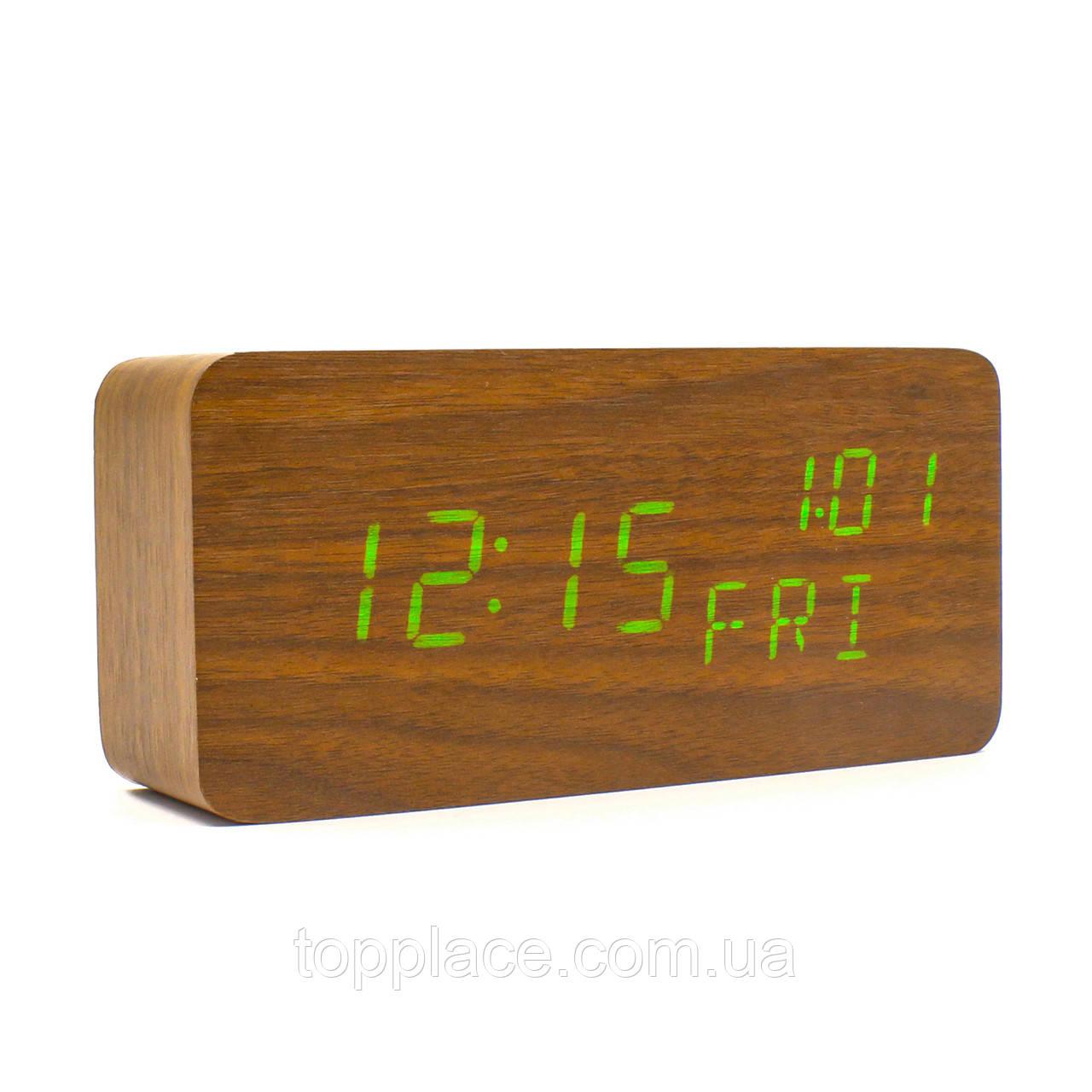 Настільні електронні годинник VST 862W, Brown (LS1010053808)