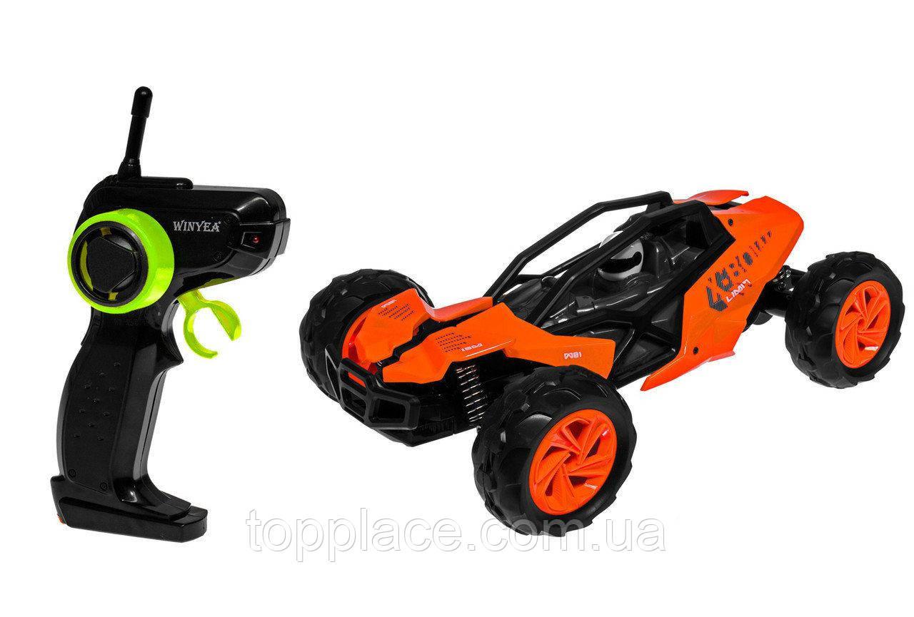 Радиоуправляемая багги Hot Wheels 1:14, Оранжевый ( W3681)