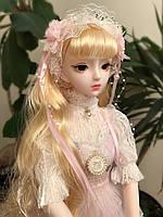 Шарнирная Кукла BJD Elena,62 см, фото 1
