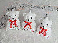 Елочная игрушка на елку новогодний мишка