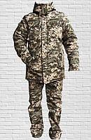 Зимний костюм для военнослужащих (пиксель)