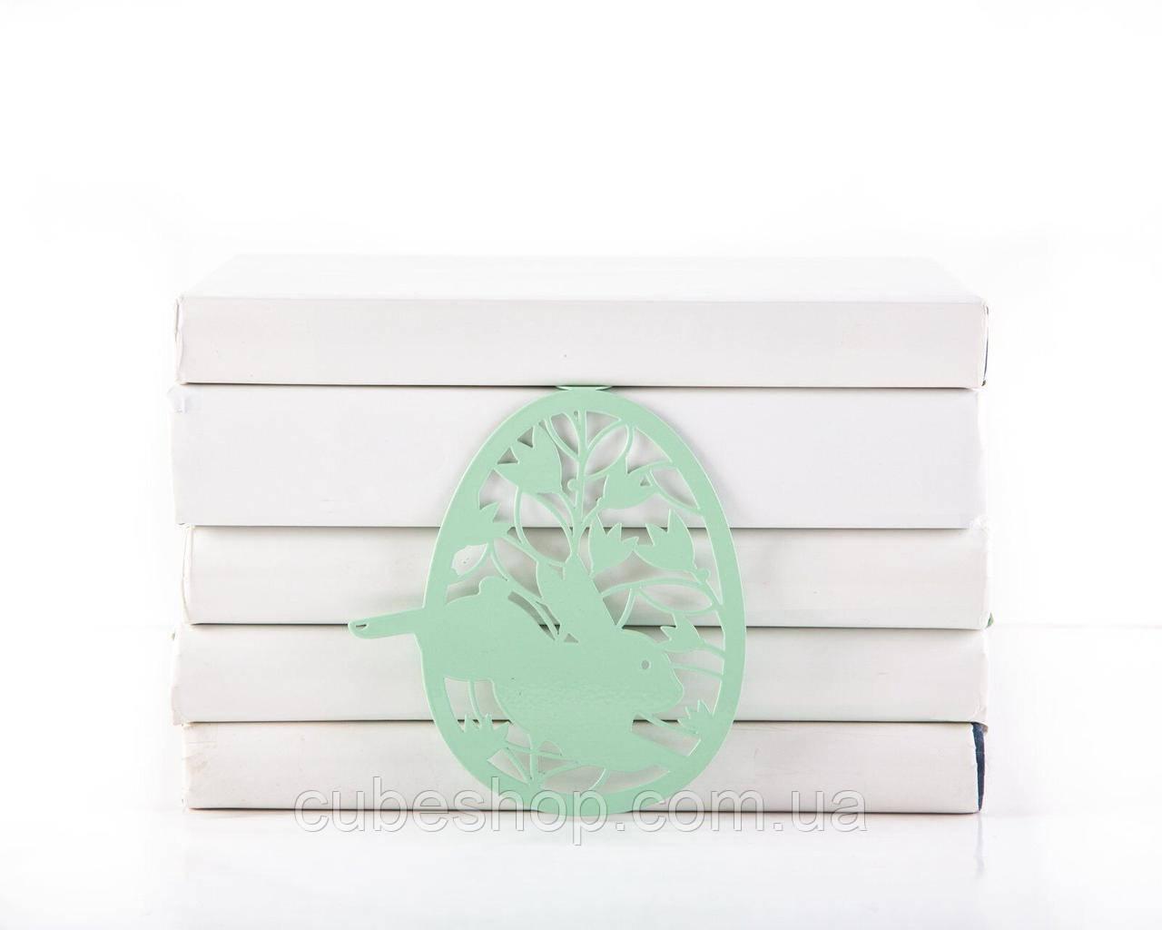 Закладка для книг Пасхальное яйцо (мятный цвет)