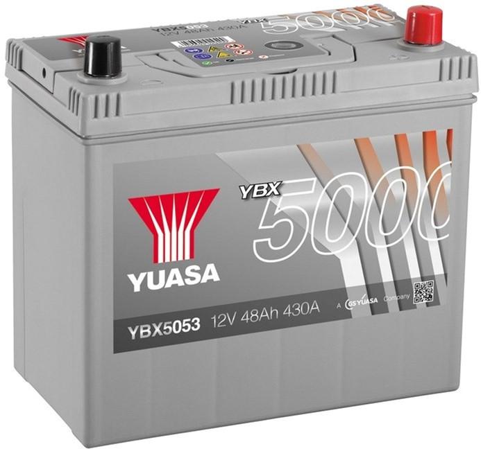Yuasa 12V 48Ah Silver High Performance Battery Japan YBX5053 (0)