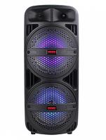 Портативная акустическая системаTemeisheng TMS-208A с радиомикрофономUSB, Bluetooth.