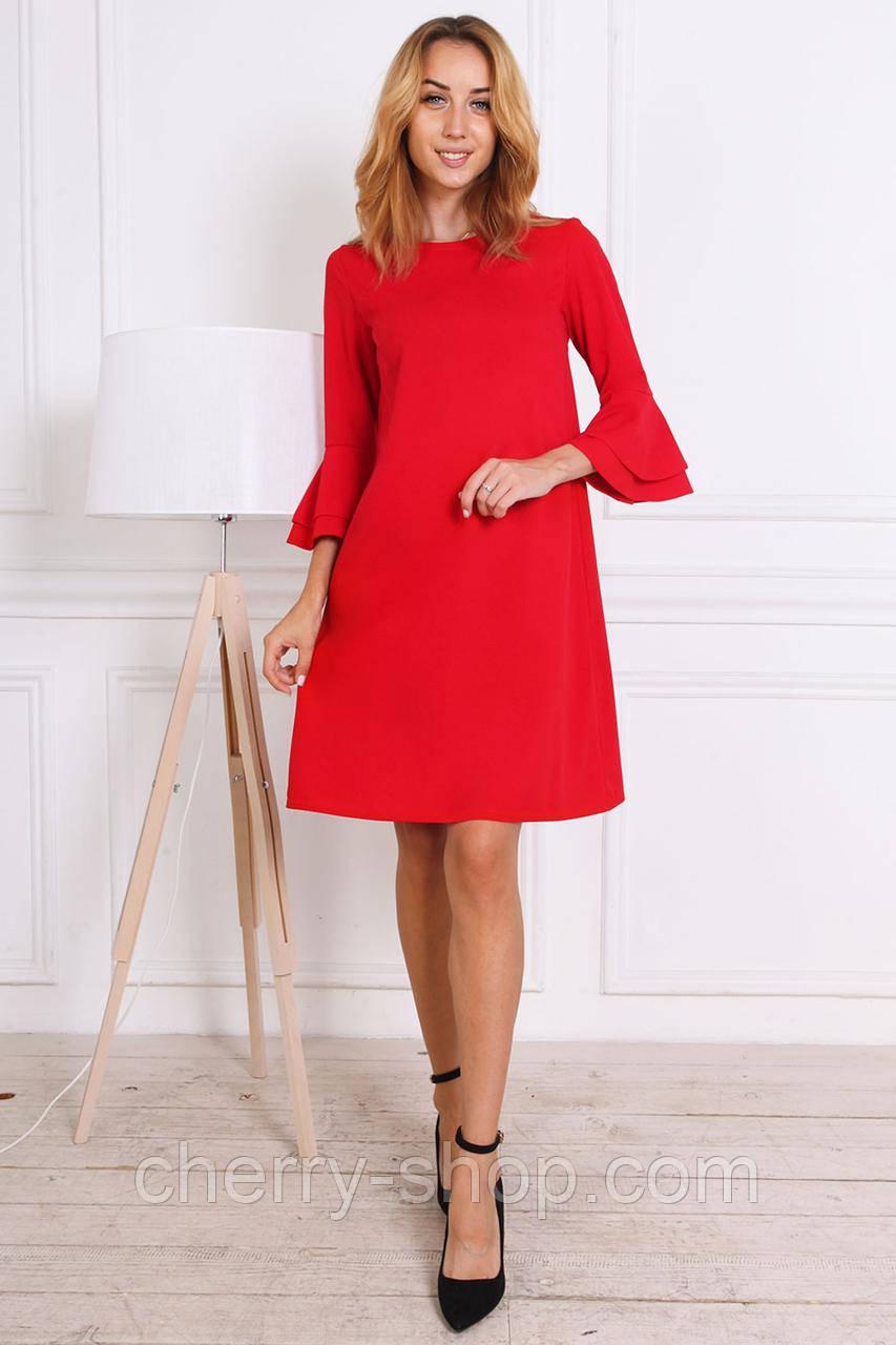 Яркое женское платье в размере 44,46,48,50