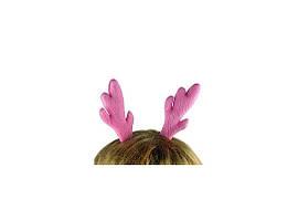 Заколка для волос Ушки Оленёнка Розовые 163-13712920