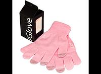 Перчатки для iРhone iGloves Розовые 211-13713171