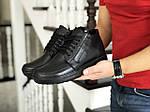 Мужские ботинки Vankristi (черные) ЗИМА, фото 2