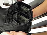 Чоловічі черевики Vankristi (чорні) ЗИМА, фото 5