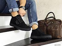 Мужские ботинки Vankristi (черные) ЗИМА