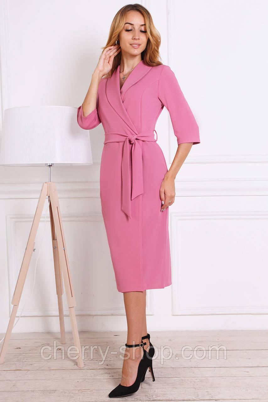 Демисезонное платье женское на запах