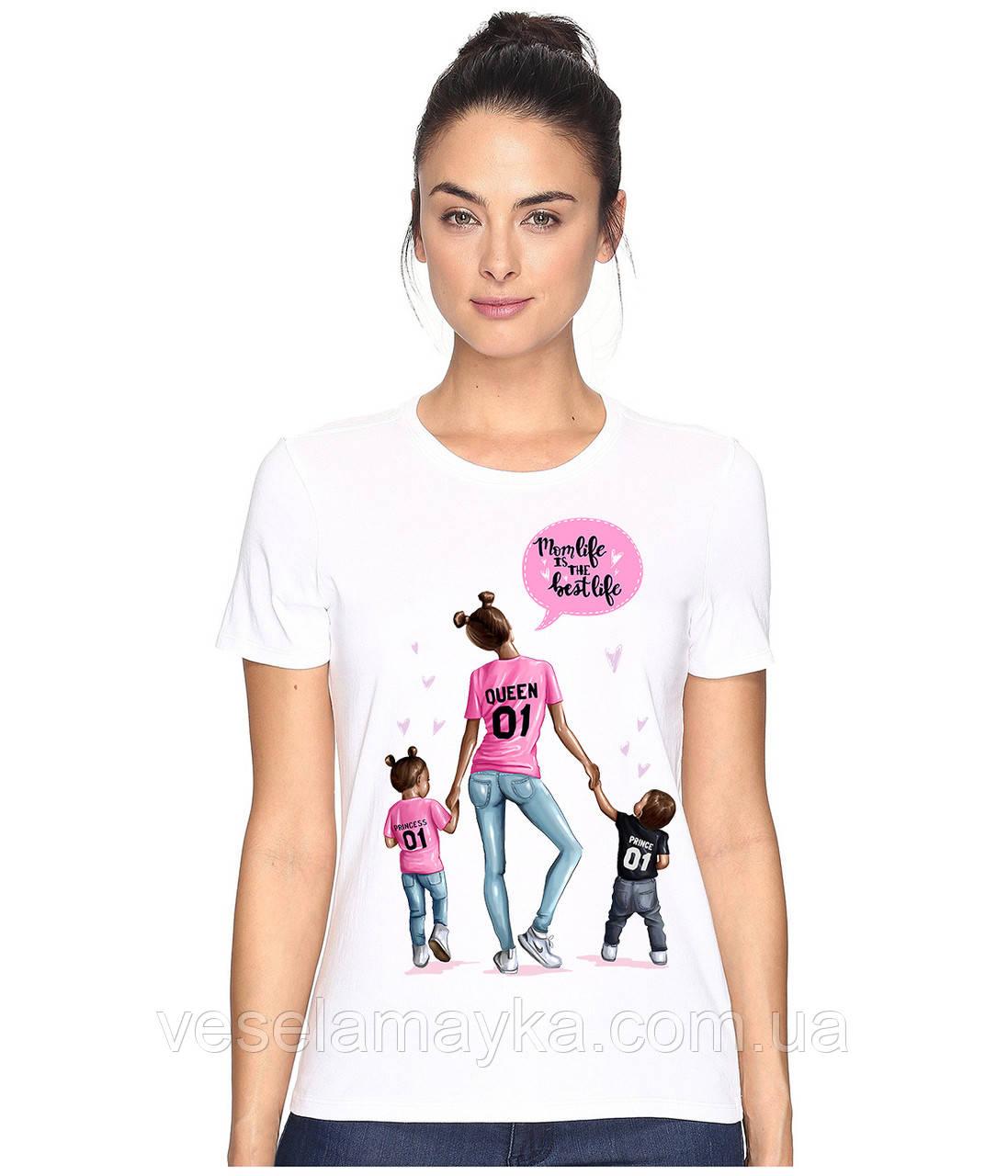 Стильная женская футболка Queen