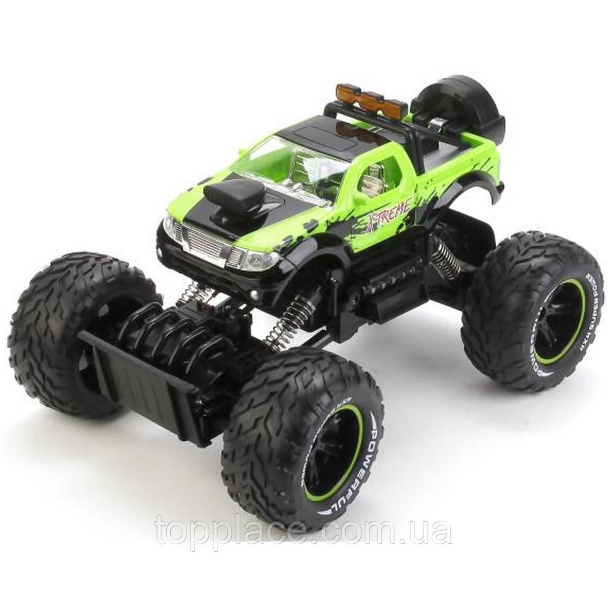 Радиоуправляемый внедорожник Rock Crawler 4WD, Зеленый (689-356)