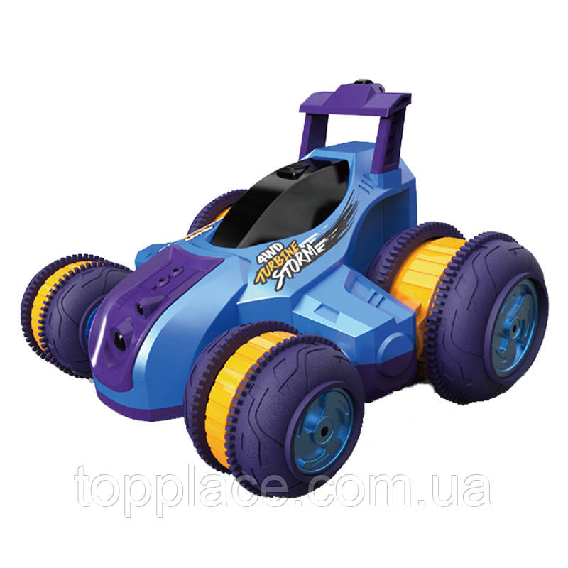 Машина (р/у, трюковая) М3946U Yellow,  (Синий)