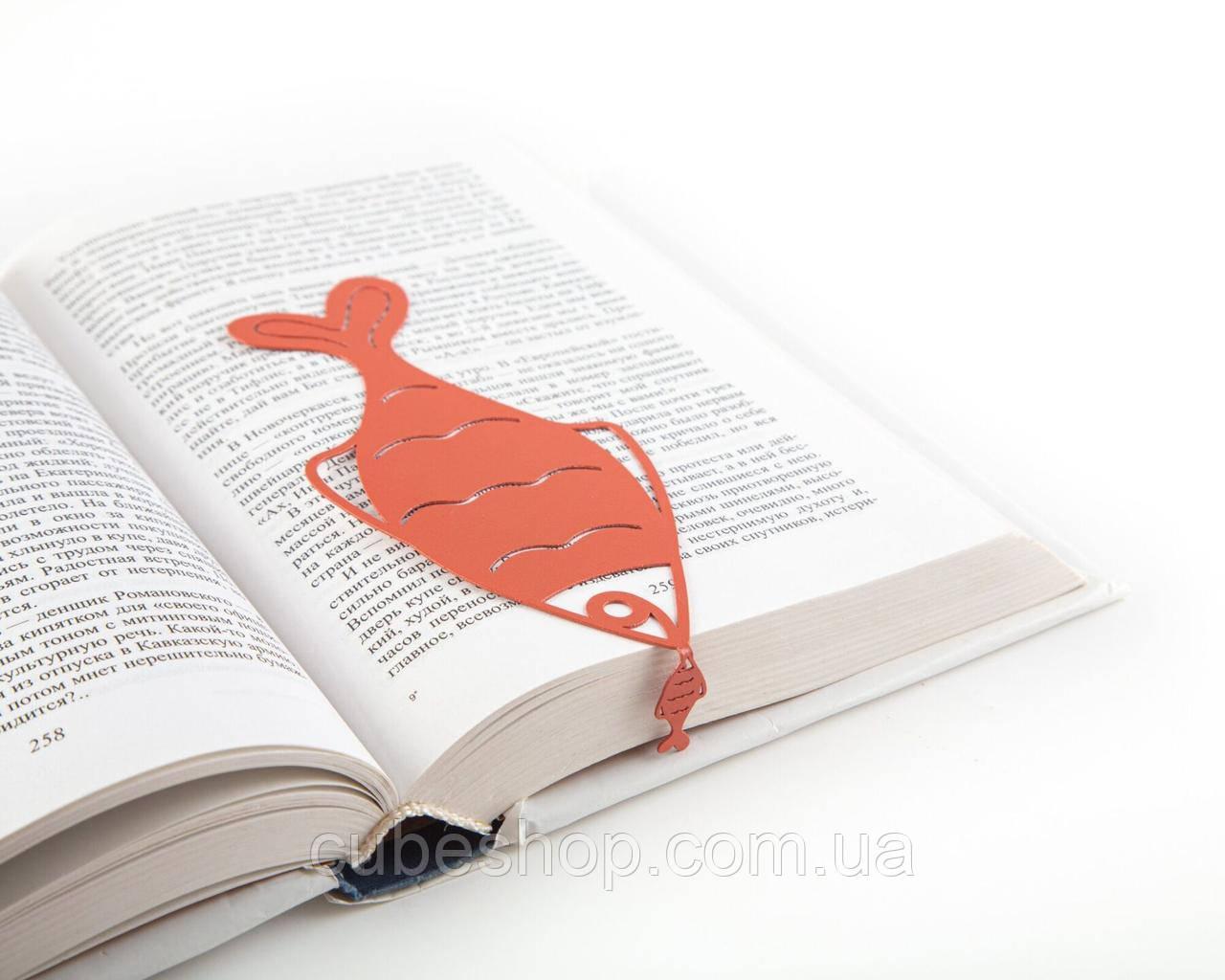 Закладка для книг Окунь