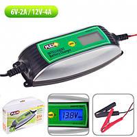 Зарядний пристрій PULSO BC-10640 6-12V/0.8-4.0 A/1.2-120AHR/LCD/Імпульсне (BC-10640)