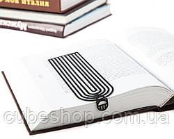Закладка для книг Арки (черный)