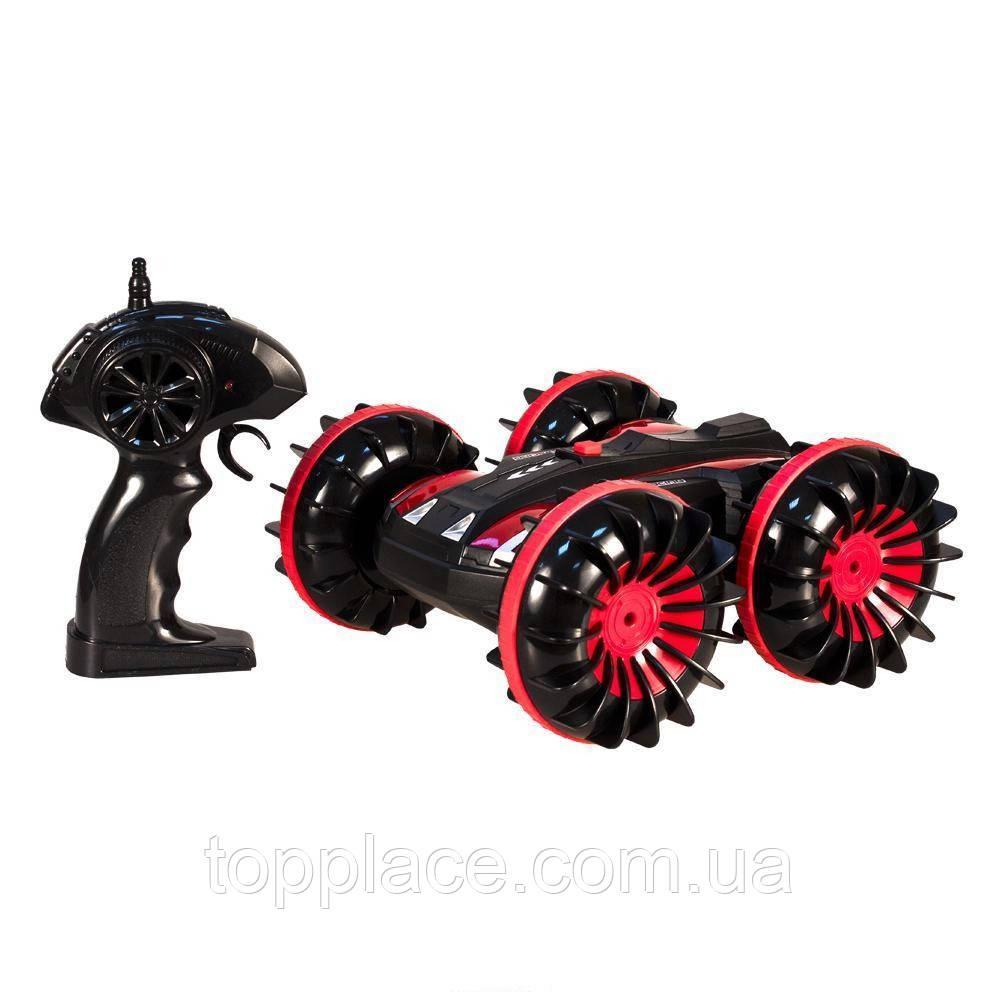 Радиоуправляемый перевёртыш-амфибия 4WD 1:18, Красный (G03060R)