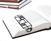 Закладка для книг Баухаус (черный), фото 1