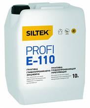 Грунтовка SILTEK PROFI Е-110 глубокопроникающая укрепляющая, 10л