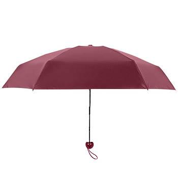 Мини зонтик в футляре БЕЗ ВЫБОРА ЦВЕТА D100
