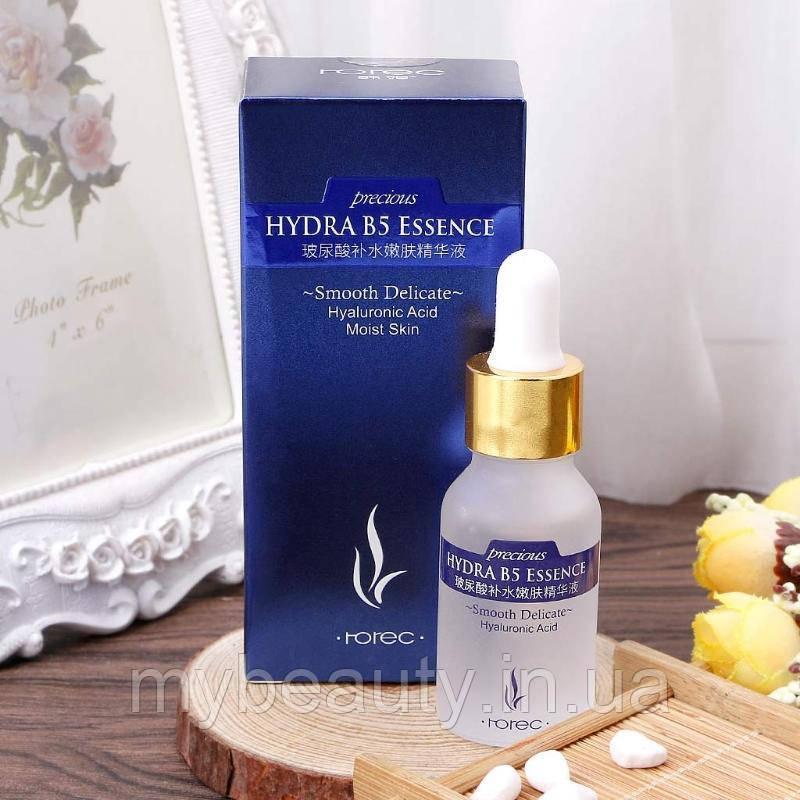 Сыворотка для лица с гиалуроновой кислотой и витамином B5 Rorec Hydra B5 Essence (15мл)