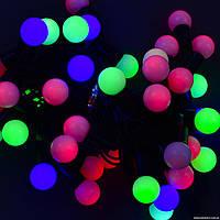 Новогодняя гирлянда на елку цветная