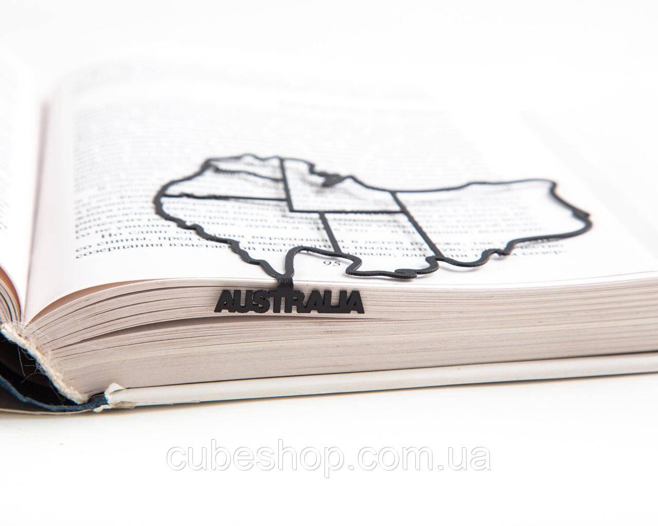 Закладка для книг Австралия