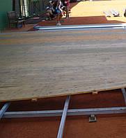 Деревянно-щитовой пол на металлическом каркасе