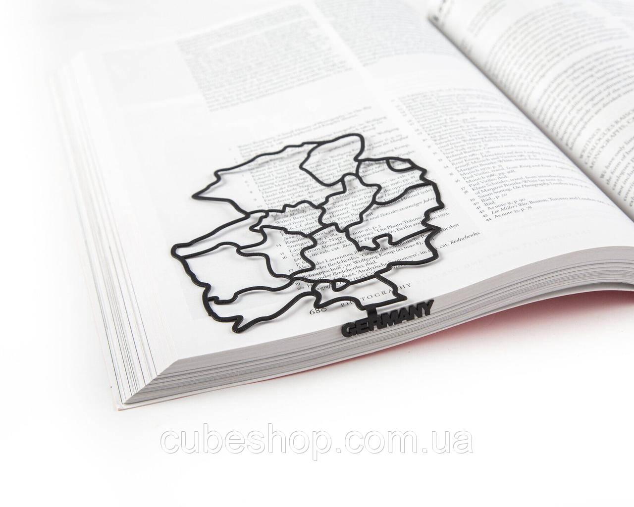 Закладка для книг Германия