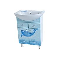 Тумбапод раковину  Либра 60-09 Дельфин