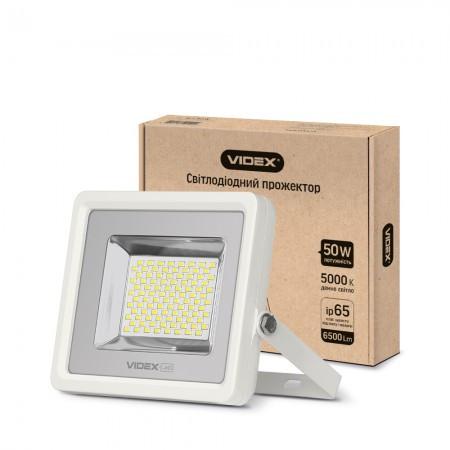 Светодиодный LED прожектор VIDEX PREMIUM 50W 5000K 6500Lm IP65