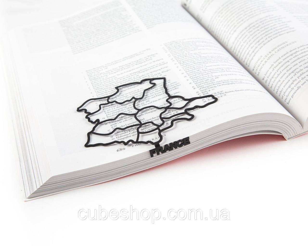 Закладка для книг Франция