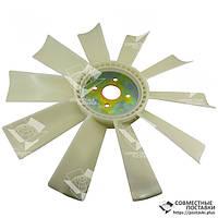 Крыльчатка вентилятора ЯМЗ-236, ЯМЗ-238 238-1308012 (пластик, d=550 мм, 10 лопастей шириной 83 мм), фото 1