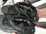 Зимові кросівки Nike Huarache (чорно-коричневі), фото 4