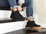 Зимові кросівки Nike Huarache (чорно-коричневі), фото 5
