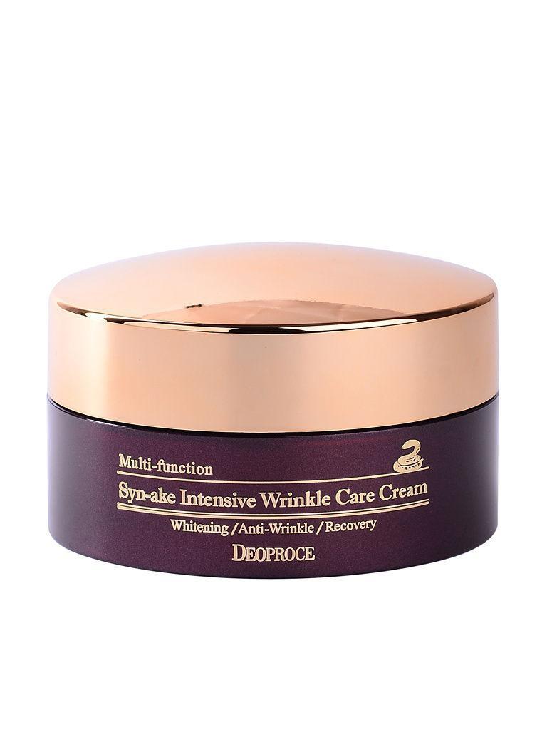 Інтенсивний крем для обличчя з пептидами змії Deoproce Synake Intensive Wrinkle Care Cream 100 мл