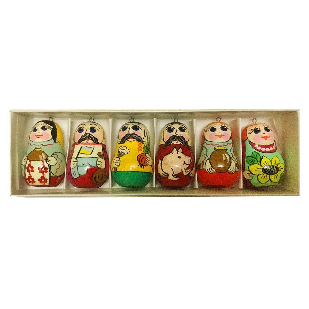 Набор новогодних игрушек на елку Украина