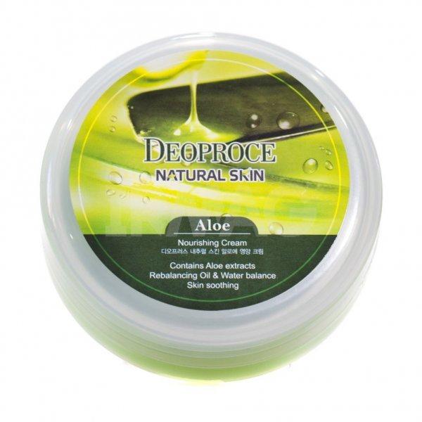 Крем для обличчя і тіла з естрактом алое Deoproce Natural Skin Aloe 100 мл