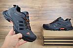 Чоловічі кросівки Adidas Climaproof (сіро-помаранчеві), фото 8