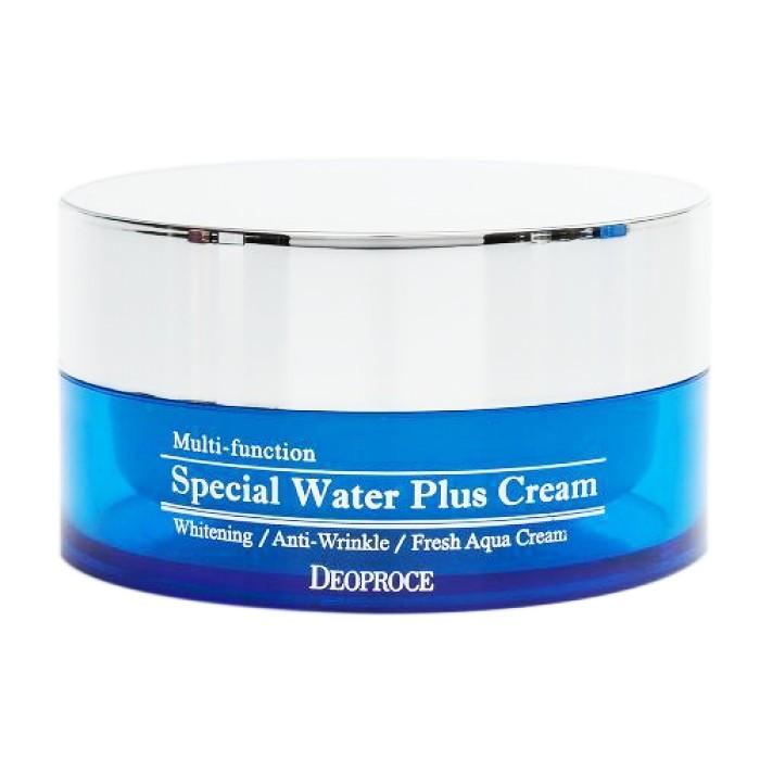 Увлажняющий крем для лица с гиалуроновой кислотой Deoproce Special Water Plus Cream