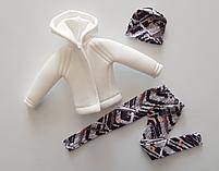Набір одягу для Барбі Гра з модою - Куртка, легінси, шапка, фото 5