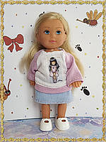 Кофточка и юбка для кукол Симба Еви