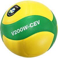 Оригинальный волейбольный мяч Mikasa V200W