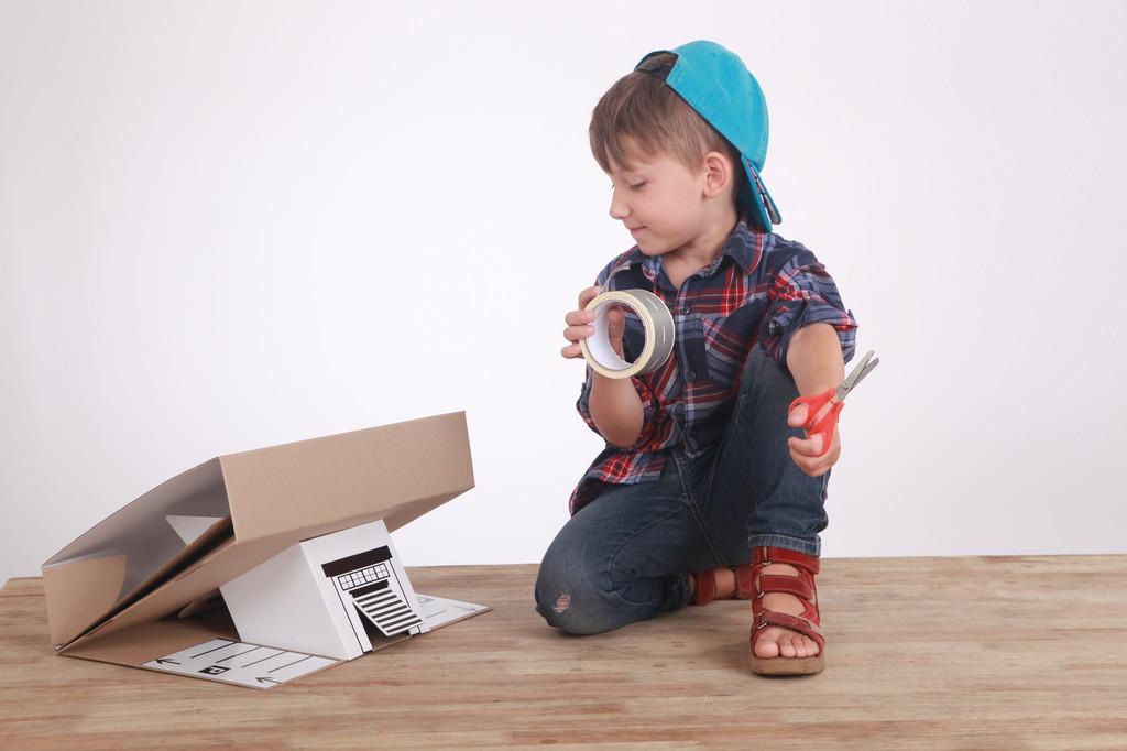 Детская фотосессия для упаковки