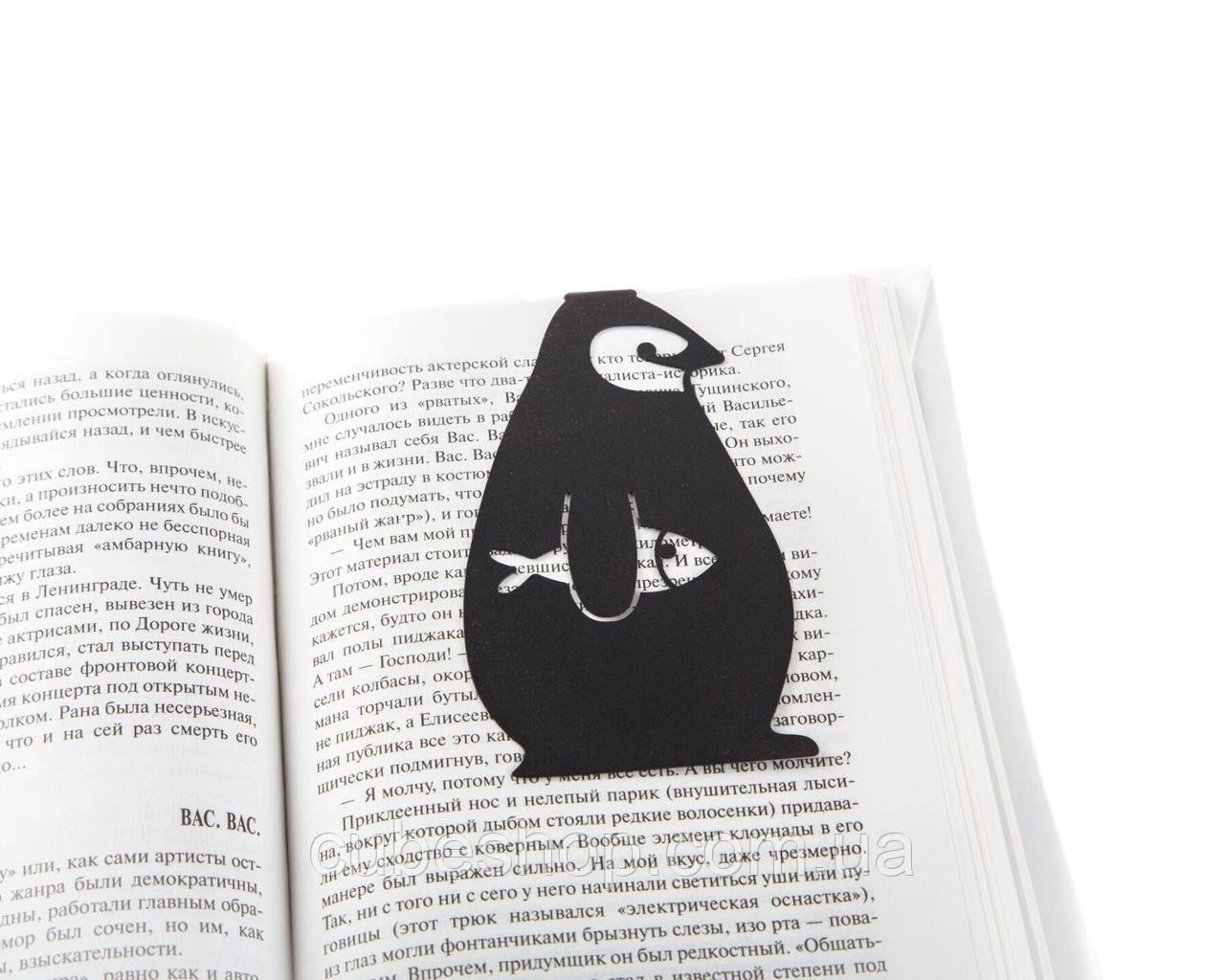 Закладка для книг Пингвин