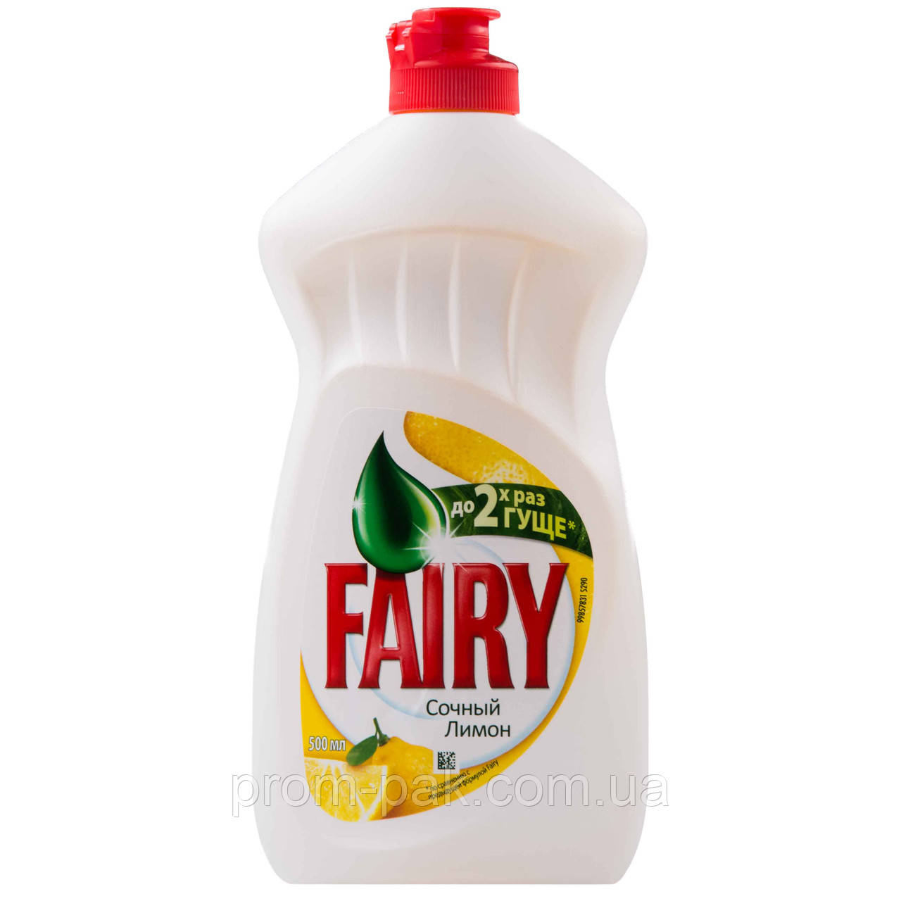 Средство моющее для посуды 500 мл Fairy сочный лимон