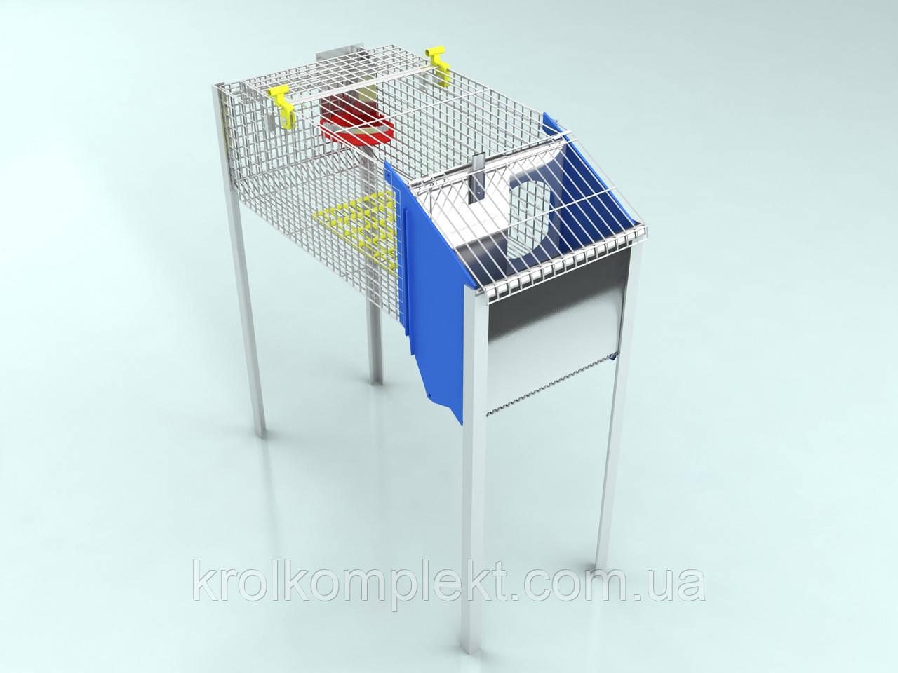 Клетка для кролей маточная  КМ-1С
