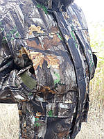Демисезонный камуфляжный костюм для охоты и рыбалки желтый лист skadi
