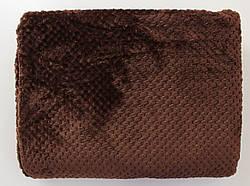 Плед покрывало из бамбукового волокна евро 200*230 разные цвета (код 720-2)